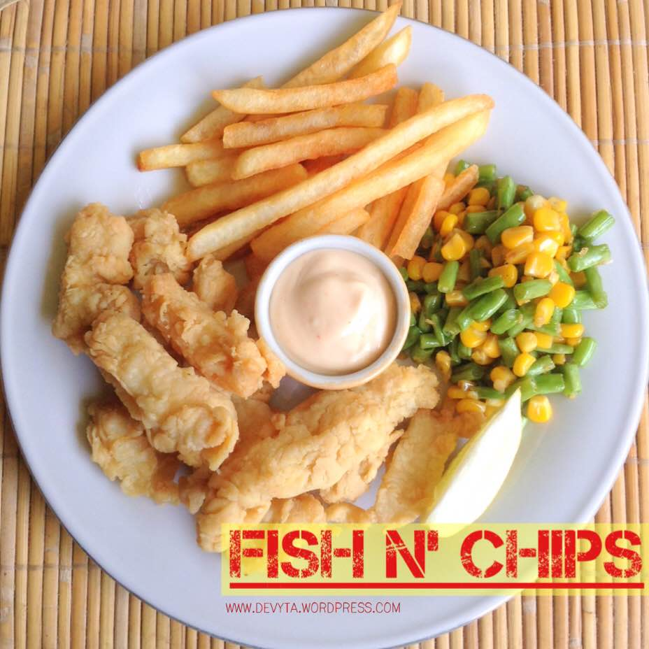 Tiny Kitchen Fish And Chips: Deph's Kitchen Lab